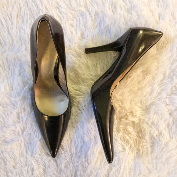 712f3ae0a6 Nine West Shoes | Women Pumps Brown Suede Pointed Toe 85 | Poshmark